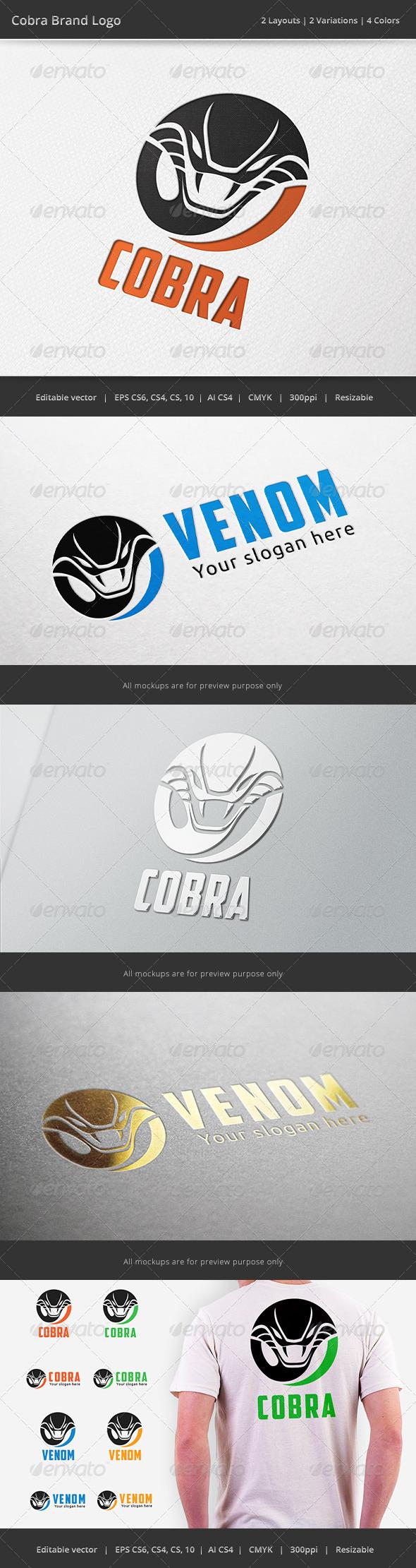 Cobra Snake Logo - Animals Logo Templates