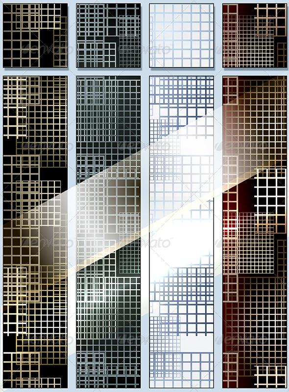 Seamless lattice pattern - Patterns Decorative