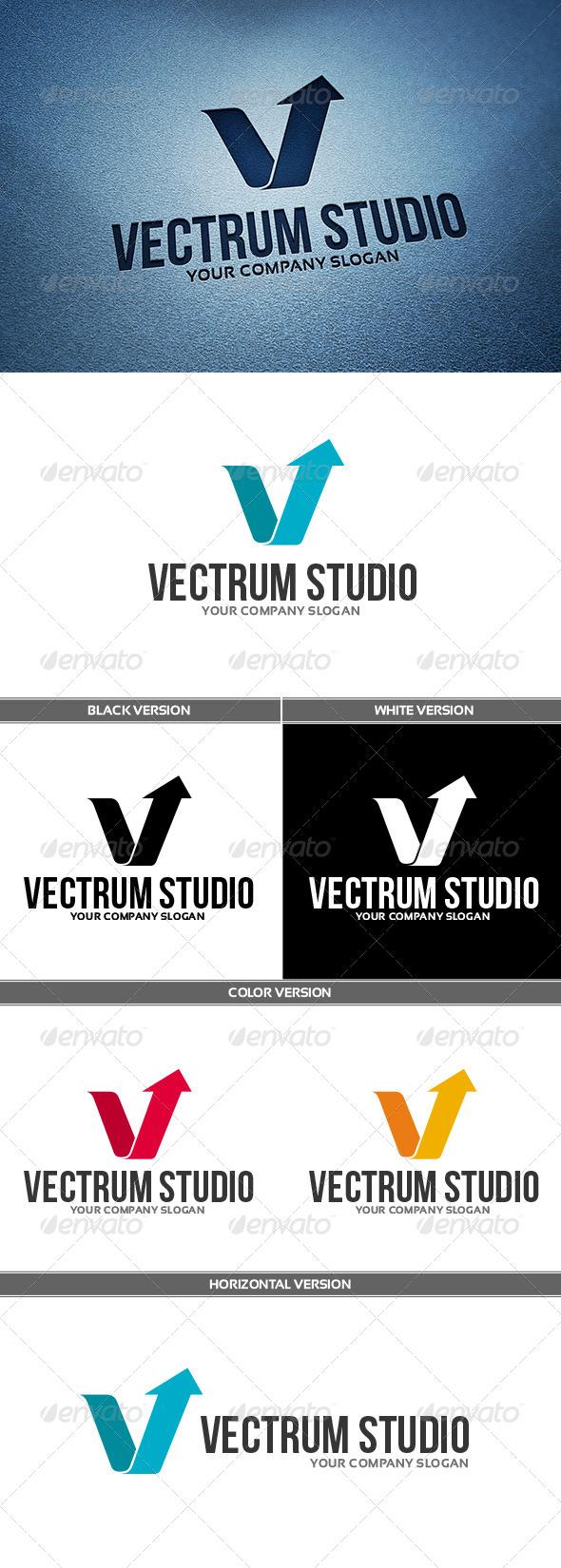 VectrumStudio Logo - Letters Logo Templates