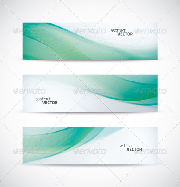 Ecology Wave Banner Vector - Backgrounds Business