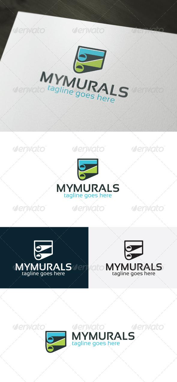 My Murals Logo - Logo Templates