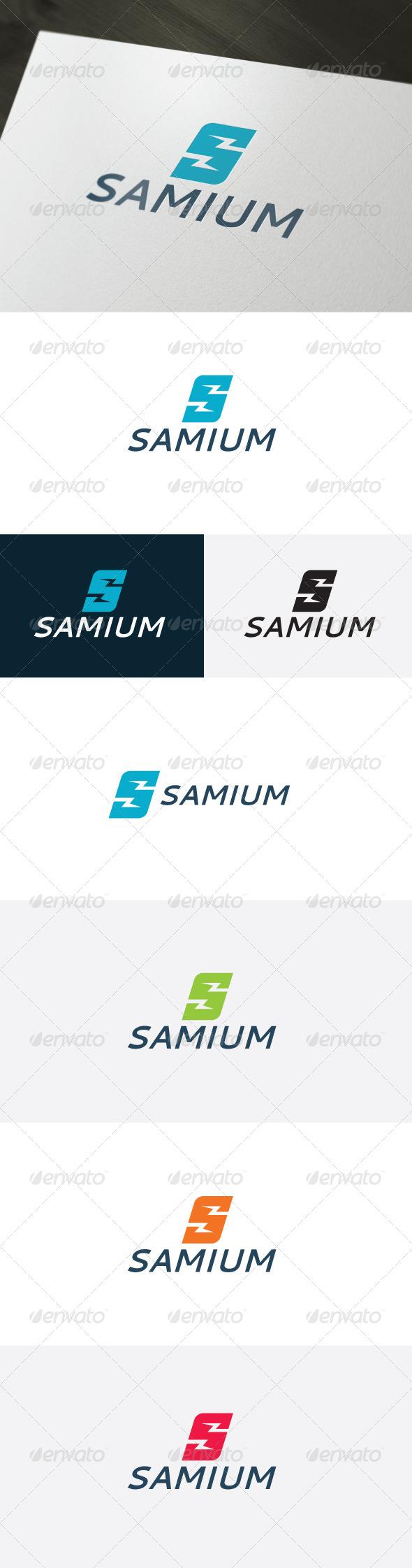 Samium Logo — Letter S - Letters Logo Templates