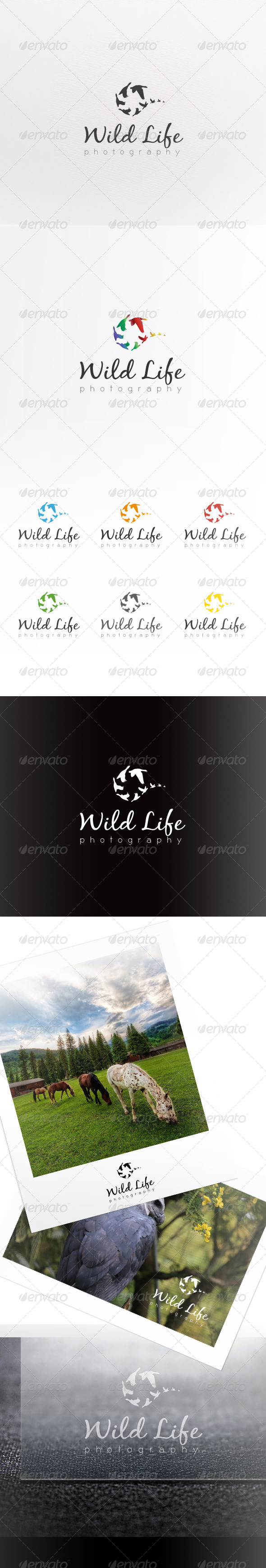 WildLife Photography Logo - Animals Logo Templates