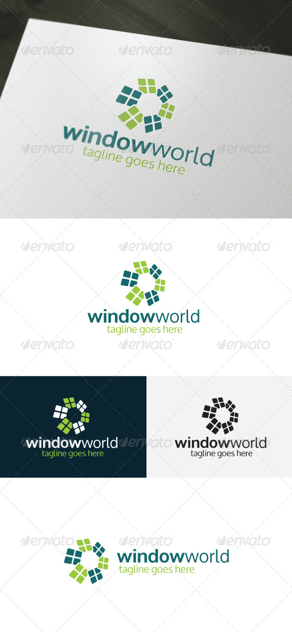 Window World Logo - Logo Templates