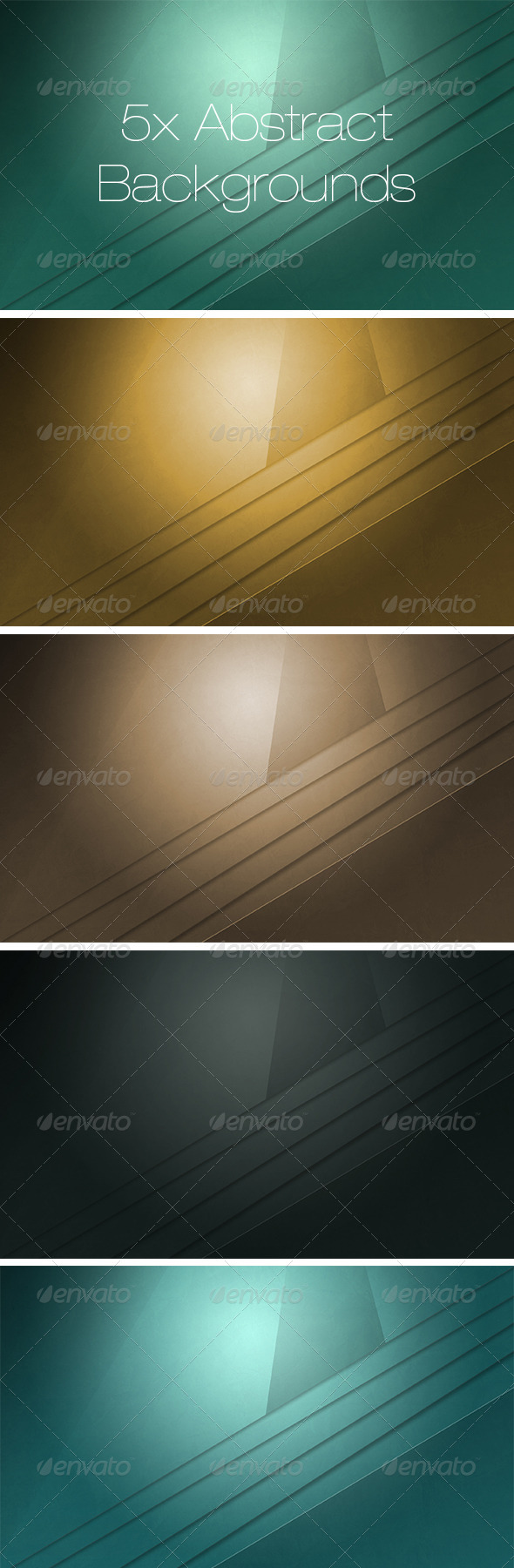 5x Abstract Backgrounds - Abstract Backgrounds