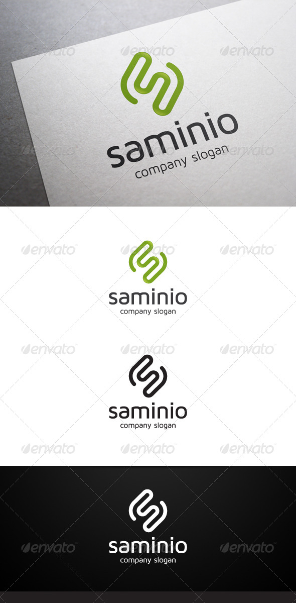 Saminio S Letter Logo - Letters Logo Templates