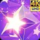 Neon Glowing Stars Tunnel - 81