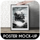 Poster Frame Mock-Up - GraphicRiver Item for Sale