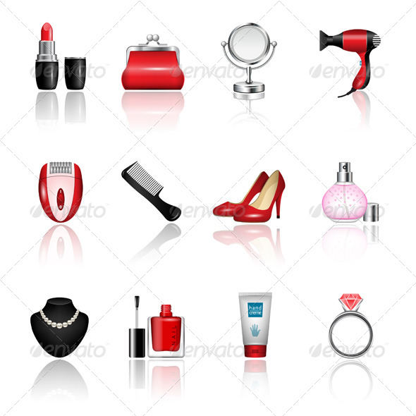 Women's Accesories - Miscellaneous Icons