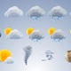 Plastic Weather Icons - VideoHive Item for Sale