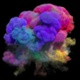 Colorful Smoke Explosion - VideoHive Item for Sale