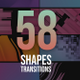 58 Shape Transitions Pack - VideoHive Item for Sale