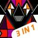 Vj Loops 3 D Pyramid Prism V.01 - VideoHive Item for Sale