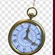 Transparent Pocket Watch Hanged With Chains - VideoHive Item for Sale