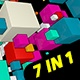 Free Download Vj Loops - Cubes Motion Party 7 in 1 Nulled
