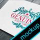 4 Photorealistic Logo Mock-Ups v.4  - GraphicRiver Item for Sale