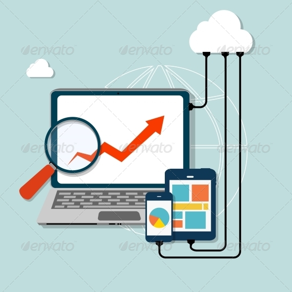 Cloud Computing Concept - Computers Technology