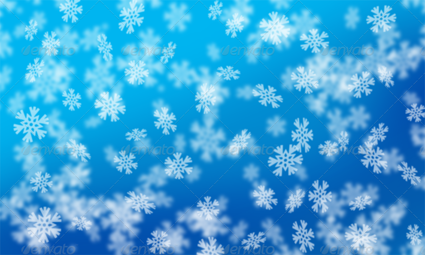 12 Snowflake Bokeh Backgrounds by ragerabbit | GraphicRiver