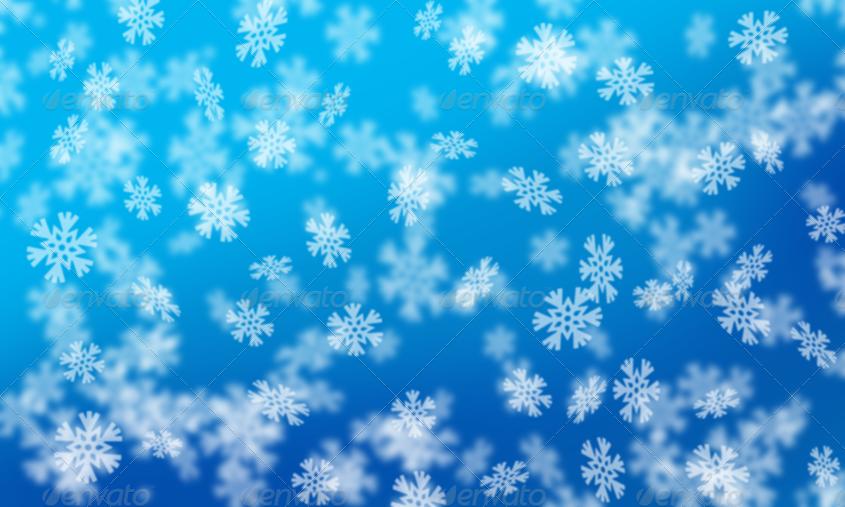12 snowflake bokeh backgrounds by ragerabbit