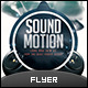 Electro Motion Music Flyer - GraphicRiver Item for Sale