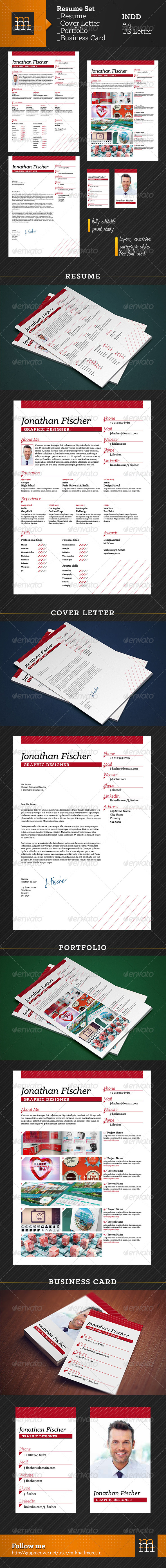 Resume Set - Resumes Stationery