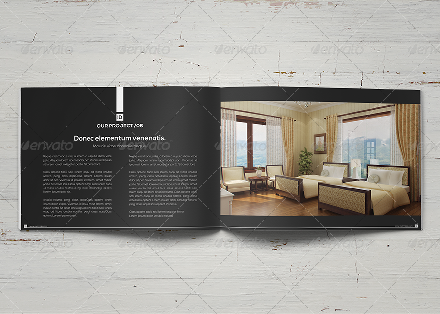 Interior design brochure by shapshapy graphicriver for Interior decoration brochure design