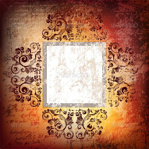 Grungy background - Retro Technology