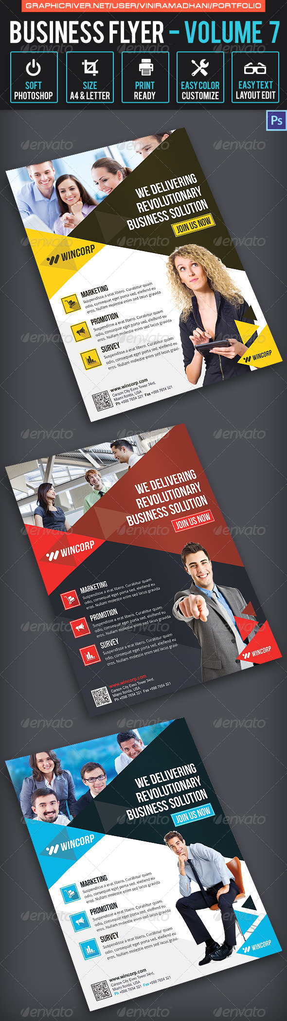 Business Flyer | Volume 7 - Corporate Flyers