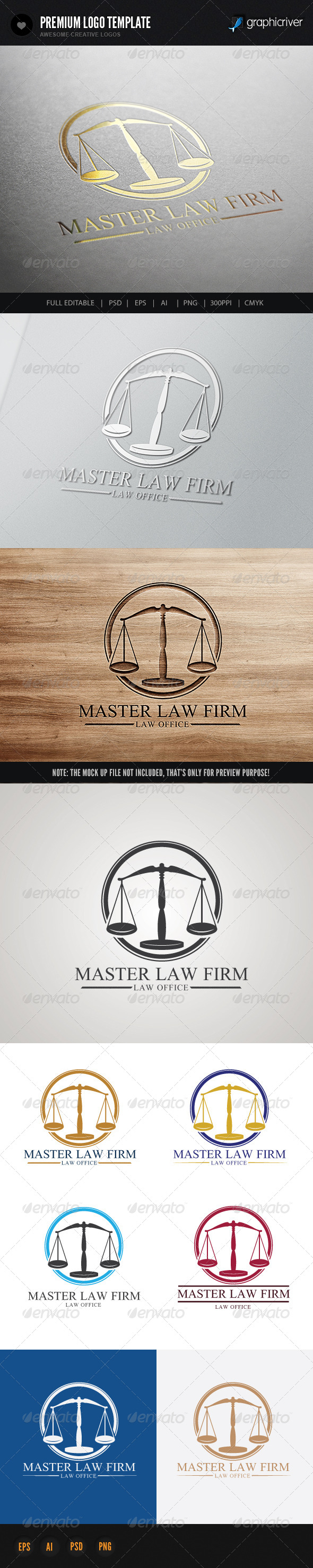 Law Firm V2 - Crests Logo Templates