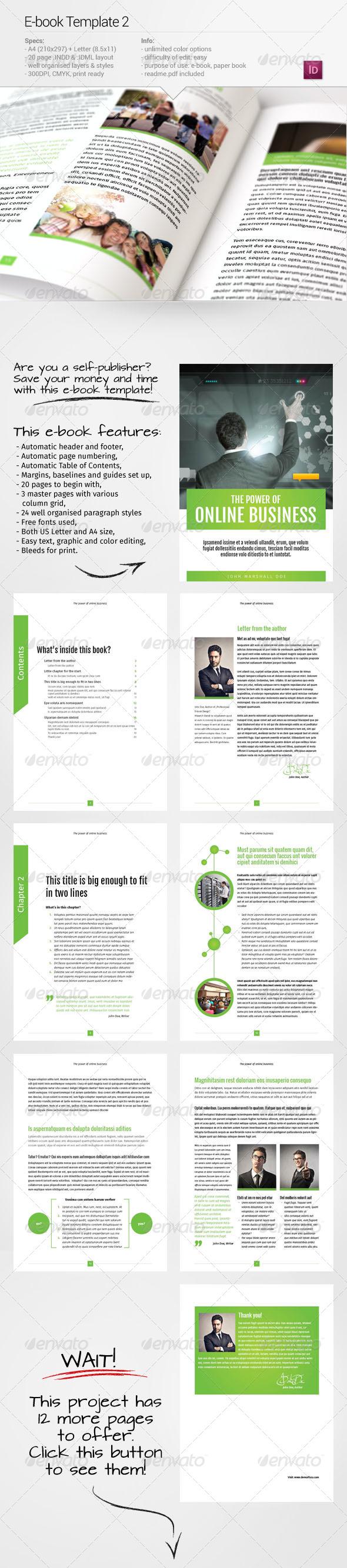 E-book Template 2 - Digital Books ePublishing