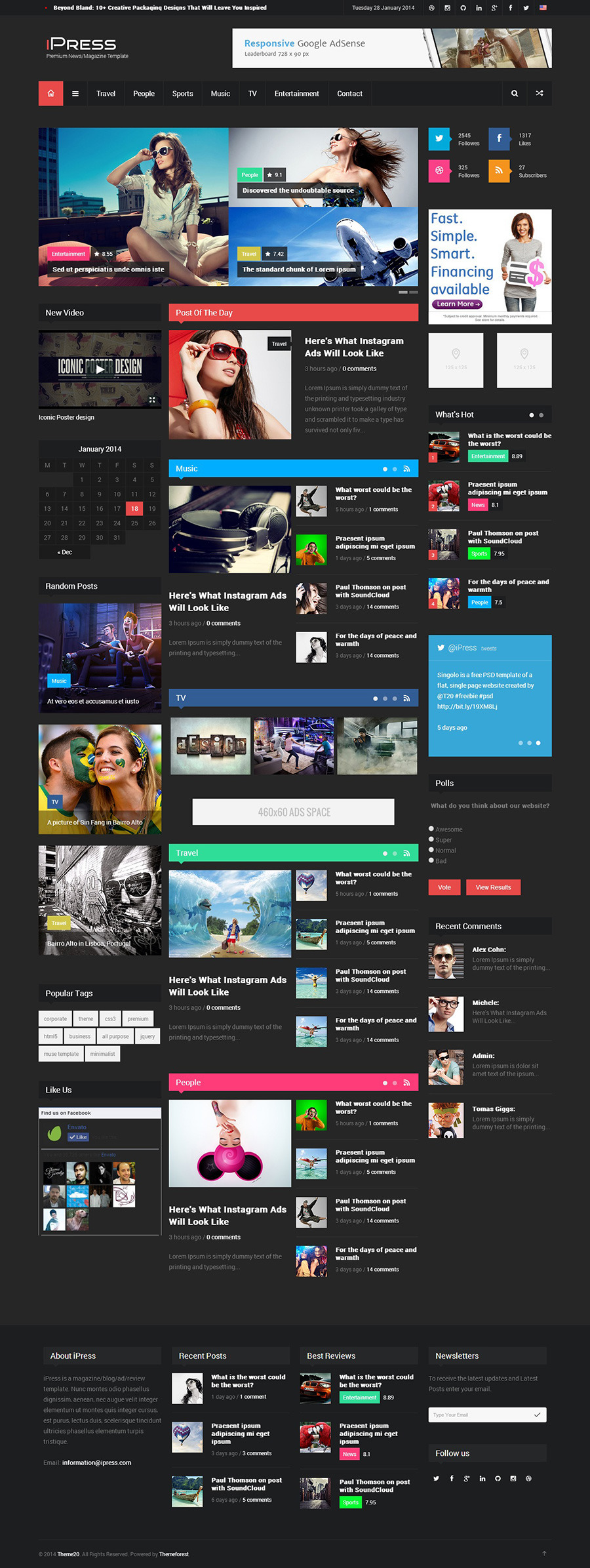 iPress Blog - Magazine Blog by Codevz | ThemeForest