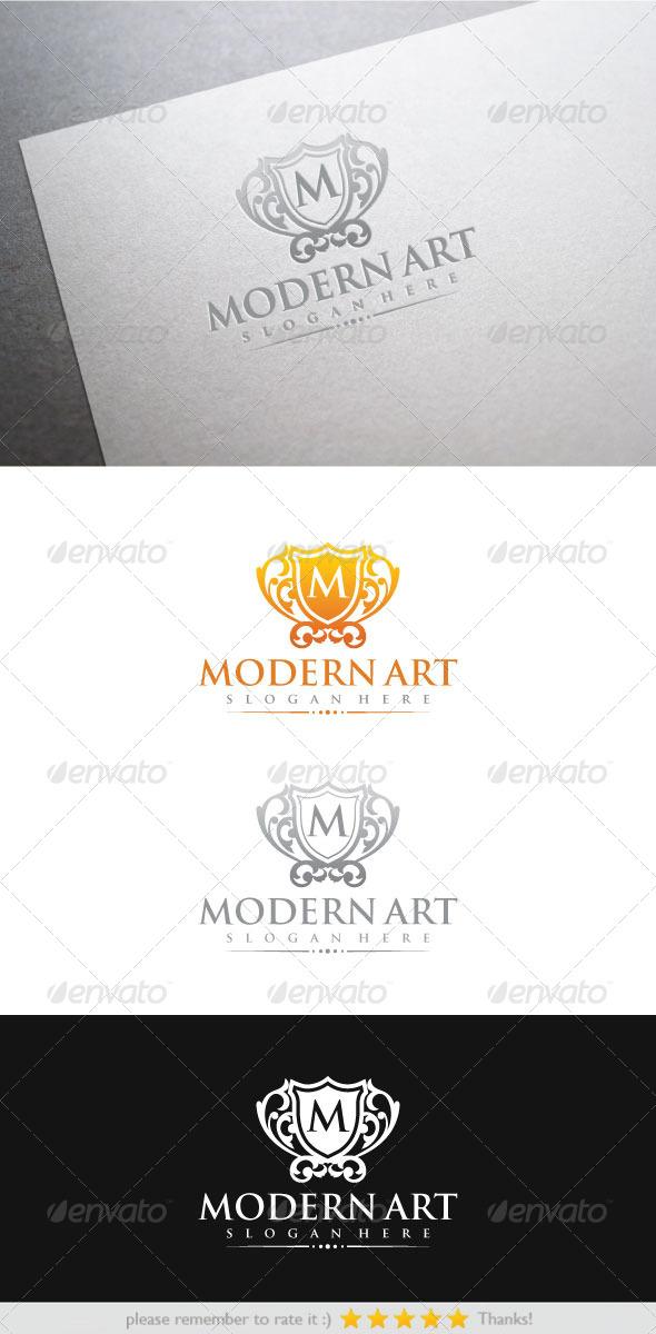Modern Art - Crests Logo Templates