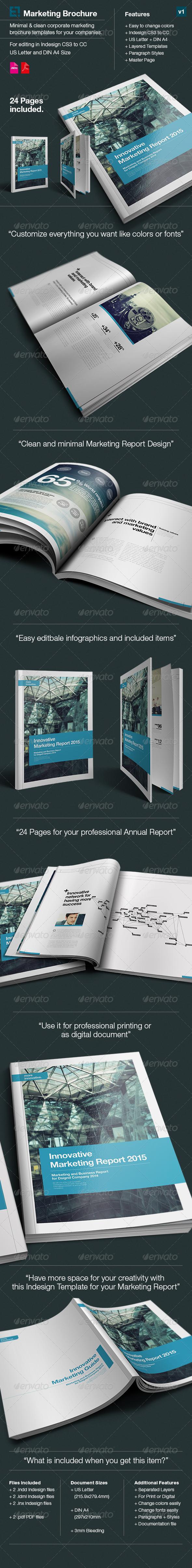Swiss Design Marketing Report - Dsignd v2 - Corporate Brochures
