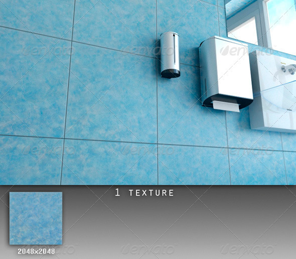 Professional Ceramic Tile Collection C054 - 3DOcean Item for Sale