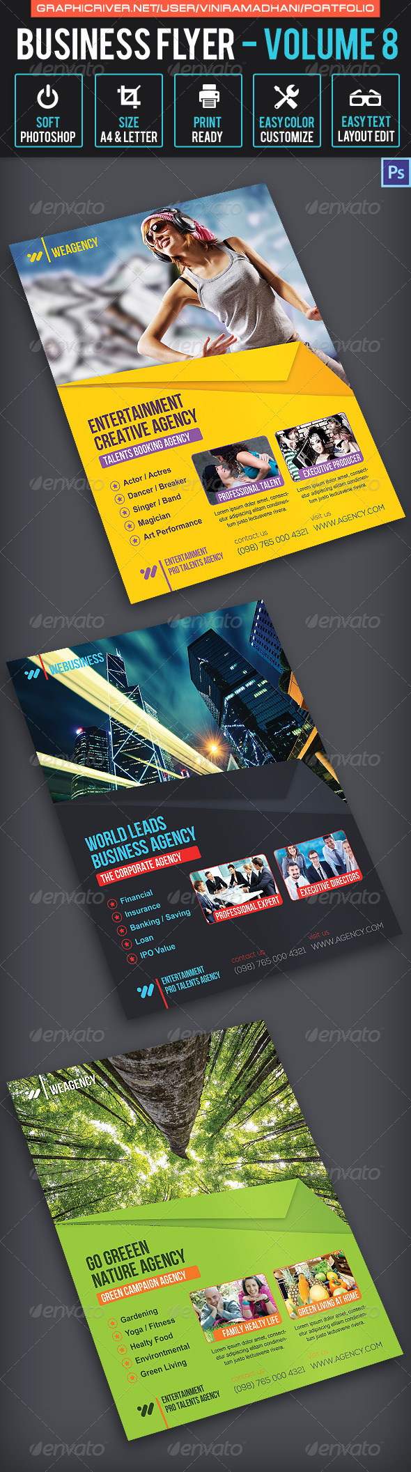 Business Flyer | Volume 8 - Corporate Flyers