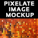 Pixelate Image Mockup - GraphicRiver Item for Sale