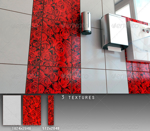 Professional Ceramic Tile Collection C056 - 3DOcean Item for Sale