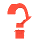 Question Mark of Liquid Red Paint - VideoHive Item for Sale