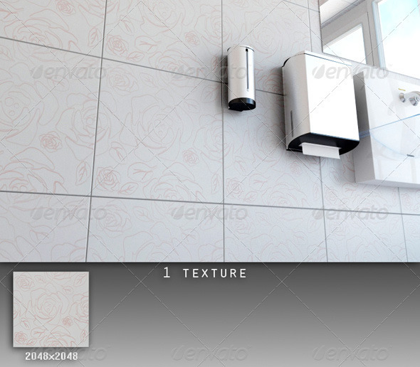 Professional Ceramic Tile Collection C057 - 3DOcean Item for Sale