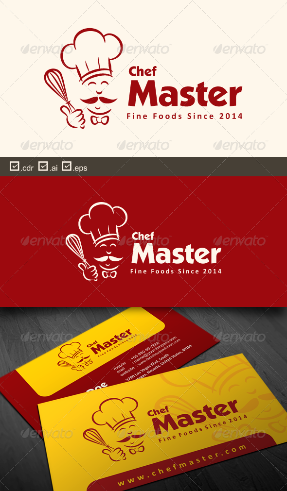 Chef Master - Food Logo Templates