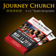 Journey Church Flyers  - GraphicRiver Item for Sale