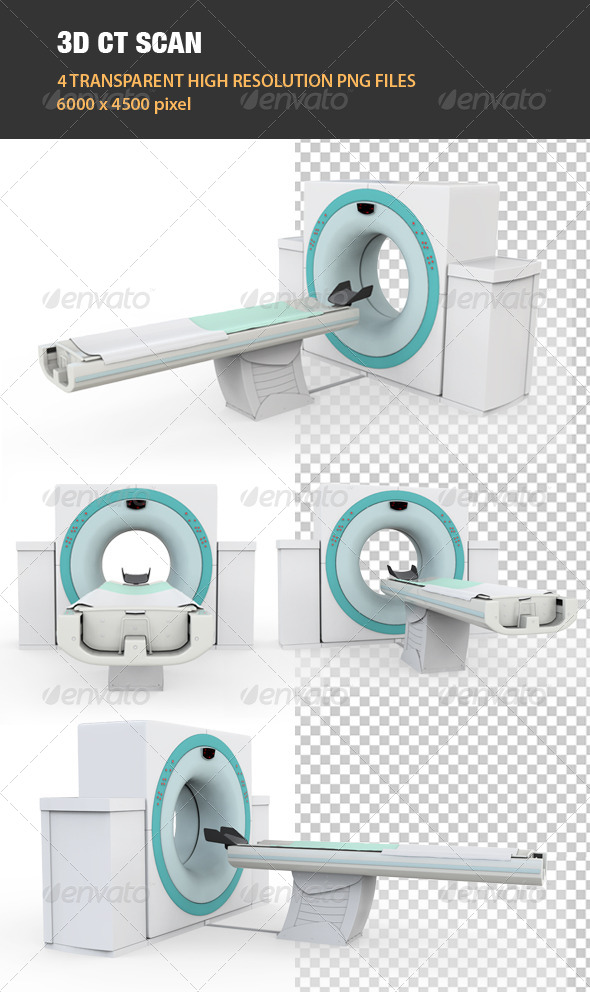 3D CT Scan - Technology 3D Renders