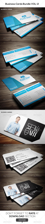 Business Cards Bundle VOL-2 - Corporate Business Cards