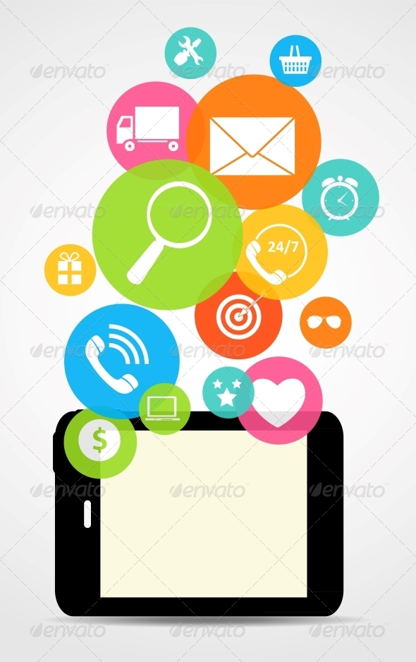 Business Internet on Electronic Device - Web Technology
