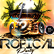 Tropical Party Flyer Template - GraphicRiver Item for Sale