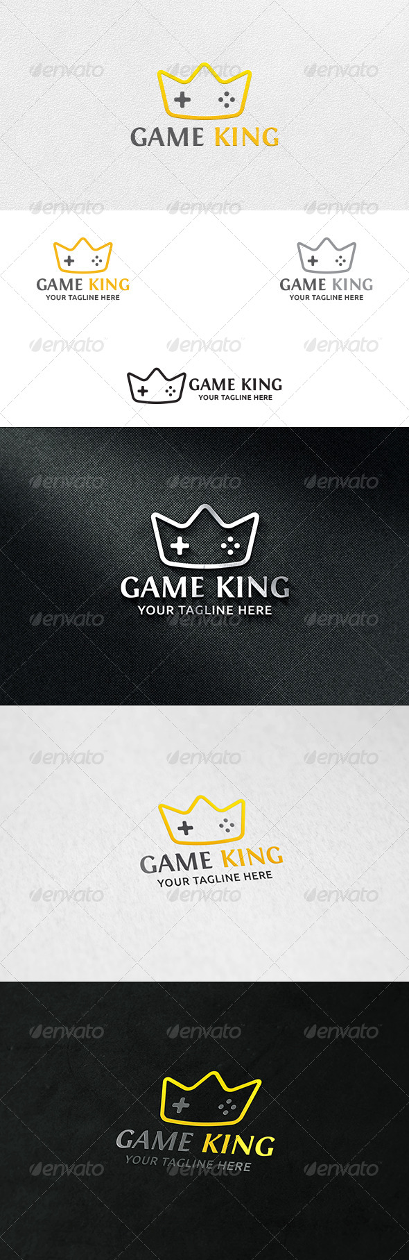 Game King - Logo Template - Symbols Logo Templates