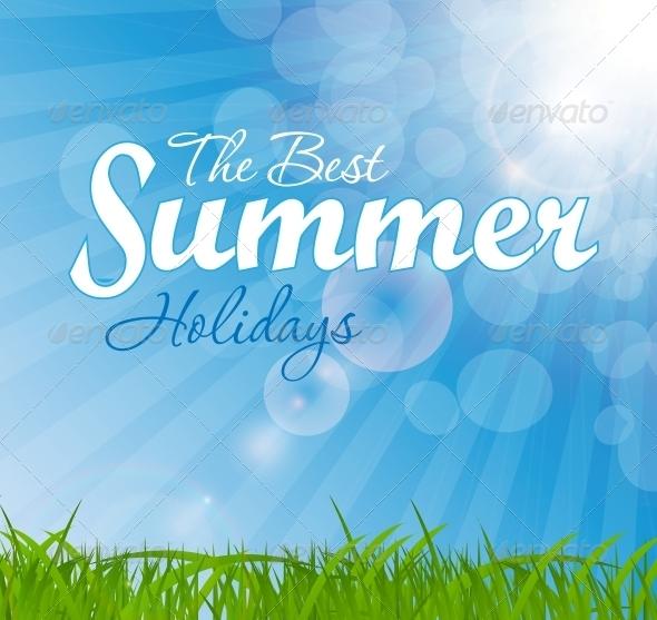 Abstract Natural Summer Background - Christmas Seasons/Holidays
