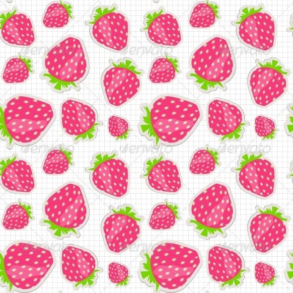 Strawberry Pattern - Christmas Seasons/Holidays