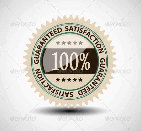 Satisfaction Guaranteed Label - Christmas Seasons/Holidays