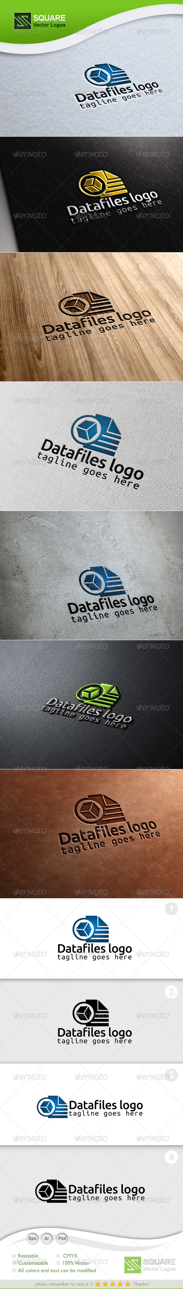 Pixel, Files Vector Logo Template - Symbols Logo Templates
